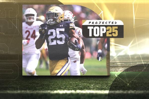 Picture for Tomorrow's Top 25 Today: Notre Dame and Arkansas rise as Clemson tumbles in college football rankings