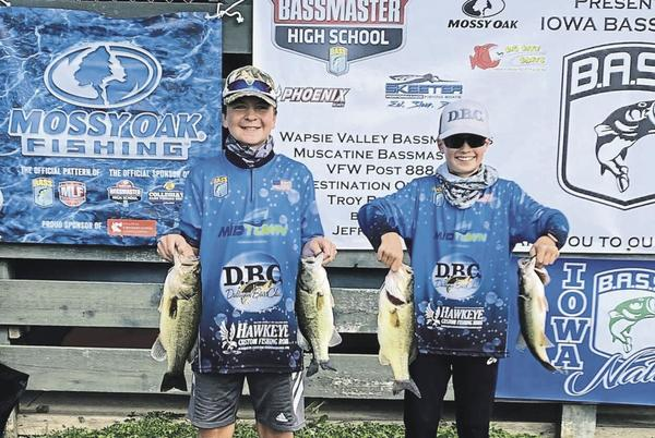 Picture for Fishing: Asbury duo earns sport in Youth BASS national championships