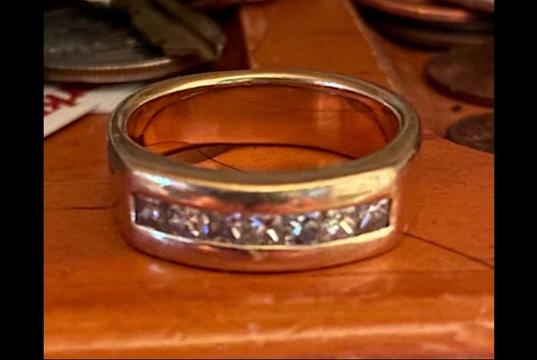 Picture for Couple asks for help finding lost wedding ring