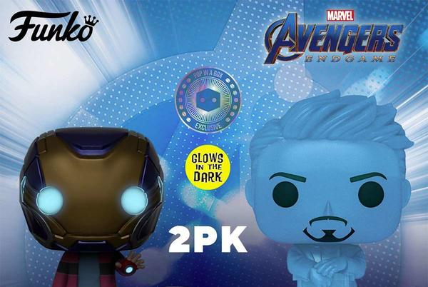"""Picture for Funko """"I Love You 3000"""" Avengers: Endgame Pop 2-Pack Exclusive Pre-Orders Return Today"""
