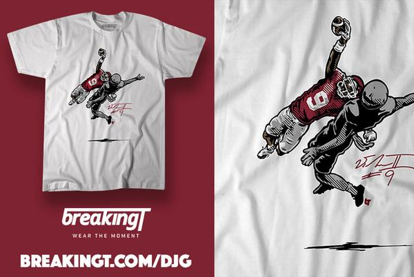 Picture for Oklahoma Sooners Football: Buy the D.J. Graham interception t-shirt and hoodie
