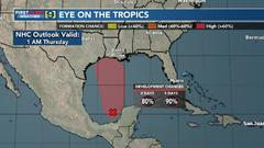 Cover for Tropical system to bring heavy rain, gusty winds to Gulf Coast