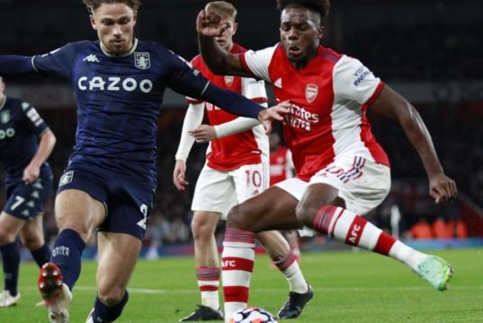 Picture for Arsenal are playing like Jekyll and Hyde but Partey and Tavares showed their best face against Aston Villa