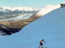 Picture for Skiers David Norris, Rosie Frankowski lead the way up Alyeska in a long, steep nordic hillclimb