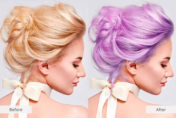 Picture for Change Hair Color in 1 Click