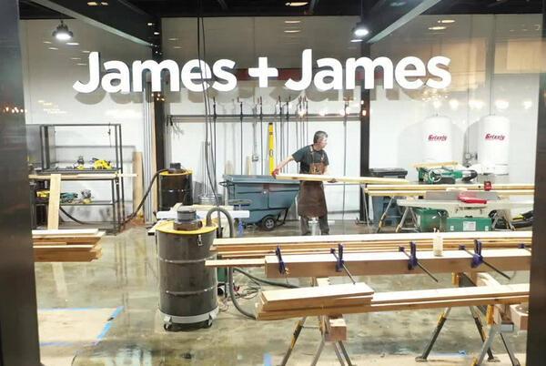 Picture for Springdale furniture maker James+James hires Bill Akins as COO