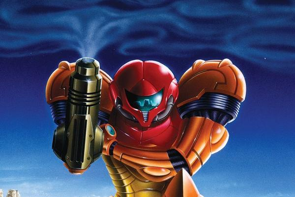 Picture for Nintendo shares clean versions of classic and modern Metroid cover art
