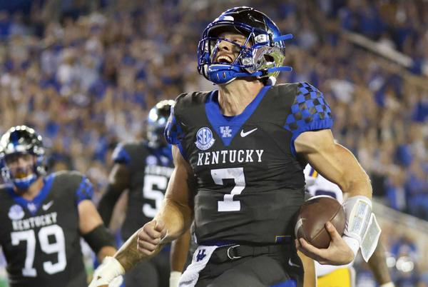 Picture for Connecticut native Will Levis leading Kentucky vs. No. 1 Georgia: 'This is why I came here'