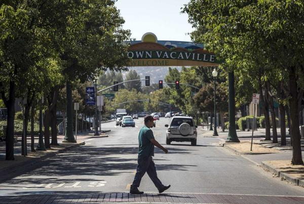 Picture for In Solano County, the Bay Area's COVID outlier, masks are anything but universal