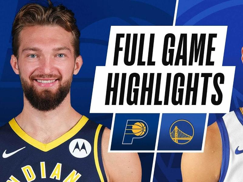 PACERS at WARRIORS | FULL GAME HIGHLIGHTS | January 12 ...