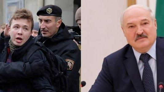 Picture for The 'shocking' arrest of a Belarusian dissident aboard a Ryanair flight marks a pattern of authoritarianism from 'Europe's last dictator'