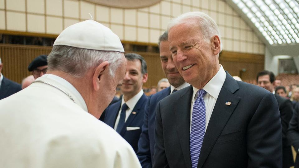 Picture for US bishops set collision course with Vatican over plan to press Biden not to take Communion
