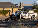 Picture for Highway 395 in Victorville closed due to fatal crash investigation