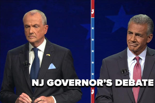 Picture for WATCH | Phil Murphy, Jack Ciattarelli face off in 1st NJ governor's debate