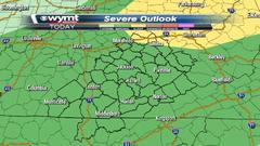 Cover for Strong storms possible later today with an approaching cold front