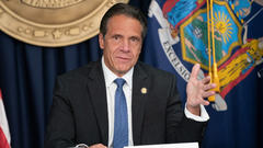 Cover for Gov. Cuomo makes an announcement, provides coronavirus update for NYS