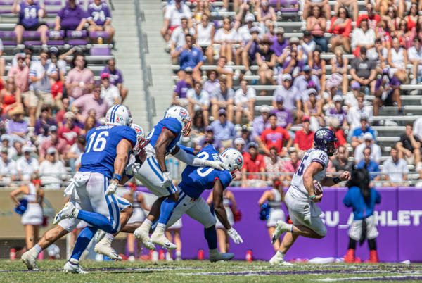 Picture for Out of the frying pan, into the fire: TCU football embarrassed by SMU offense in loss
