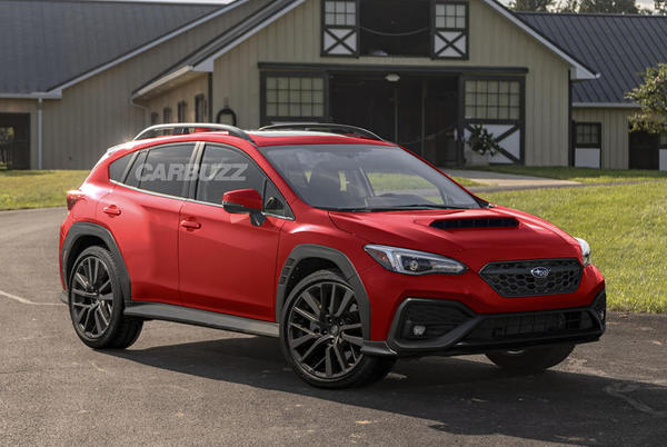 Picture for The Subaru Crosstrek WRX Looks Ready For Action