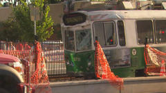 Cover for Baker 'Really Anxious' To Find Out What Happened In MBTA Green Line Crash