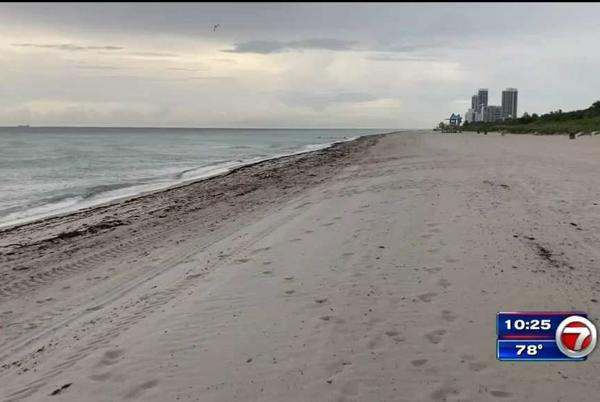 Picture for FDOH issues no-swim advisory for several beaches in Miami Beach