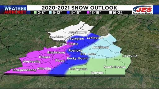 Roanoke Va Will It Snow On Christmas 2020 Sorry snow lovers, our 2020 2021 winter forecast calls for below