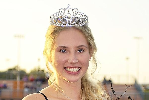 Picture for Vogt crowned Gravette homecoming queen in ceremonies Friday night