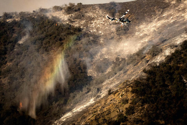 Picture for Aircraft Up in Alisal Fire Fight