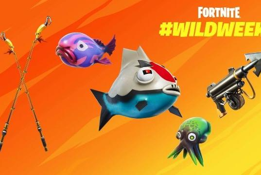 Picture for Fortnite: Where is the shield fish location?