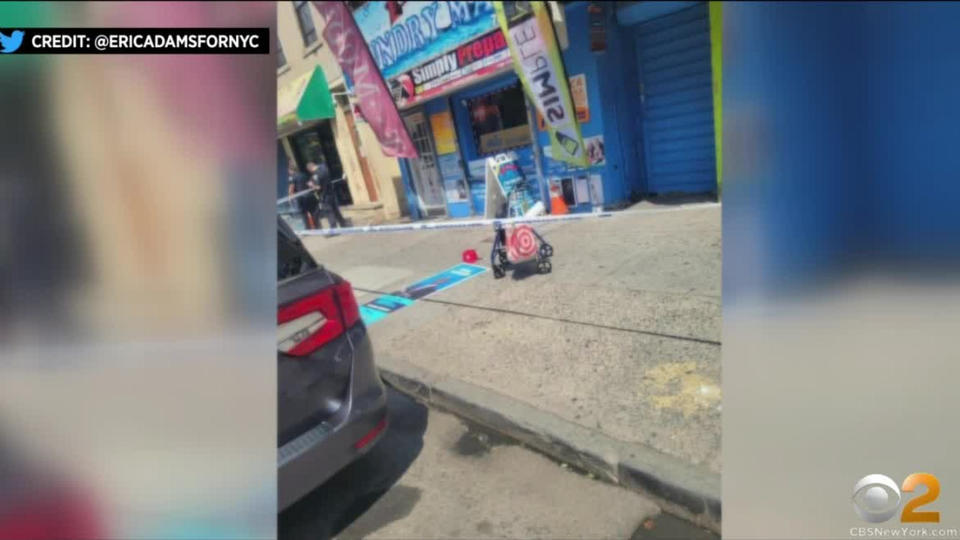 Picture for Eric Adams: Mayoral Campaign Worker Stabbed In Bronx