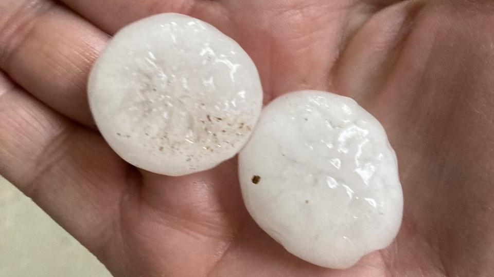 Picture for Severe Storms Drop Hail, Heavy Rain Sunday From Southeast Denver To Aurora