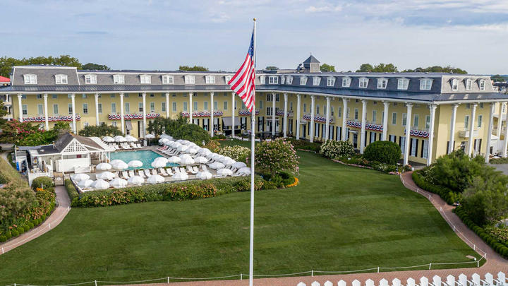 Cover for Congress Hall Named #2 Top Resort Hotel in the Mid-Atlantic by Travel + Leisure 2021 World's Best Awards