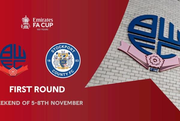 Picture for Wanderers To Face Stockport County In FA Cup