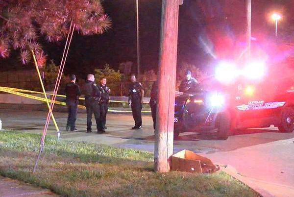 Picture for Cleveland police officer shoots man holding ax