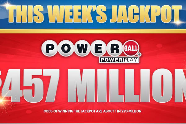 """Picture for Two lottery jackpots top $400M; list of 20 """"lucky"""" places to buy tickets"""