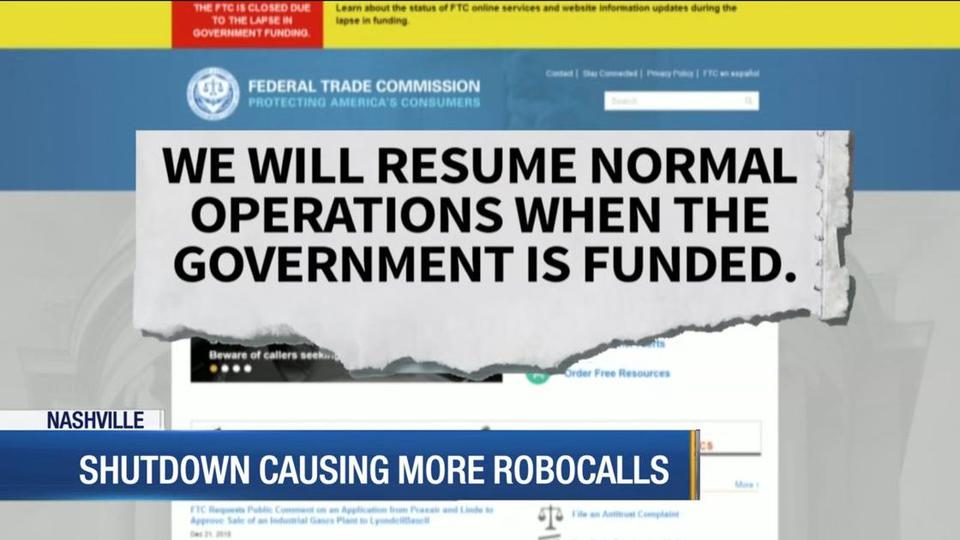 Be Prepared For More Robocalls Until Government Reopens News Break