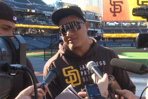 Picture for Manny Machado and Fernando Tatis Jr. address the yelling situation in dugout