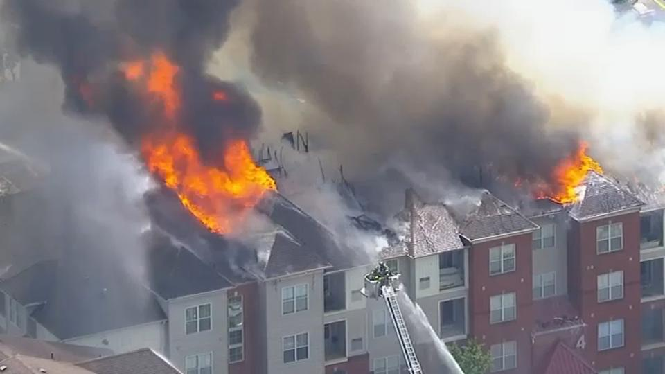 Picture for Fire destroys apartment building comprised of 48 units in New Jersey