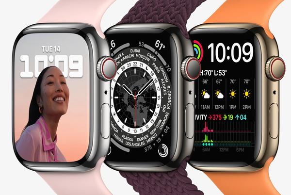 Picture for Apple Watch Series 7 Features Exclusive Watch Faces Including Modular Max and Continuum