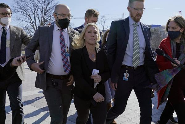 Picture for Marjorie Taylor Greene's chief of staff resigns