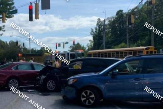 Picture for Triple Vehicle Crash in Annapolis Causes Road Closure, Major Delays