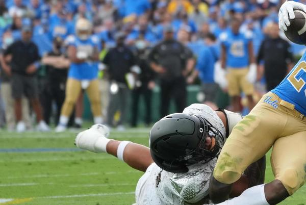 Picture for Comeback Falls Short, UCLA Football Crumbles Against Oregon