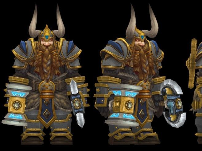 Fan Made Custom Model For Muradin Bronzebeard News Break