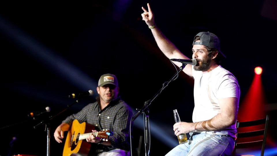 Picture for Country star Thomas Rhett opens up on his bond with his dad, Rhett Akins