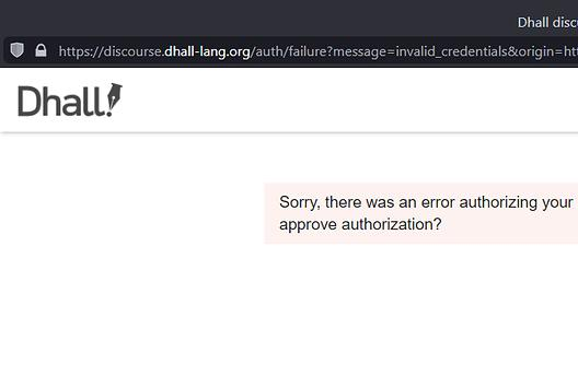 Picture for After failed login via GitHub, all subsequent attempts fail