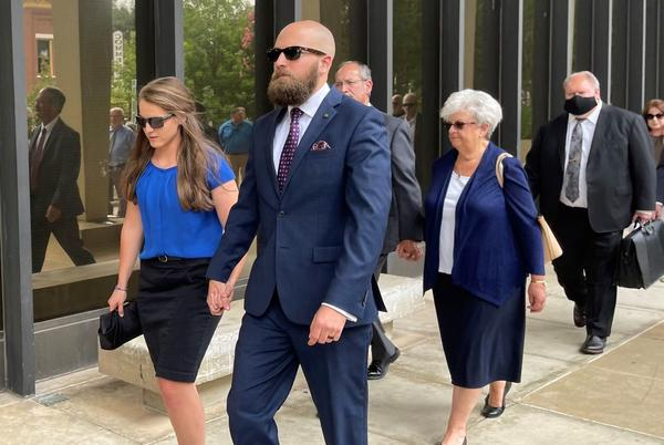 Picture for Huntsville police officer convicted of murder asks for new trial