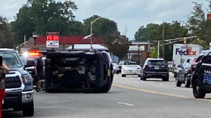 Cover for Caldwell, NJ: Rollover Crash Blocks Bloomfield Avenue Wednesday Afternoon