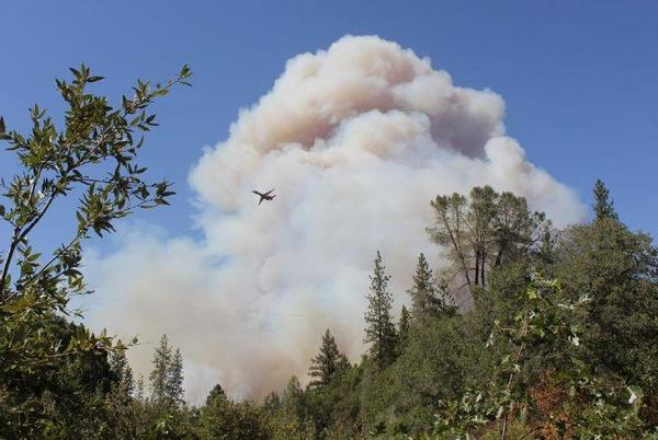 Picture for Colfax evacuated as River Fire spreads; 2,500 acres charred, blaze zero percent contained