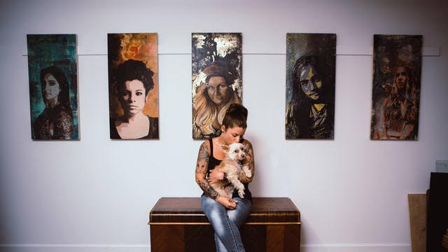 Cover for Naomi Shanti, Owner of Ocala's Alchemy Tattoo and Fine Art, Checks in about Healing and Transformation