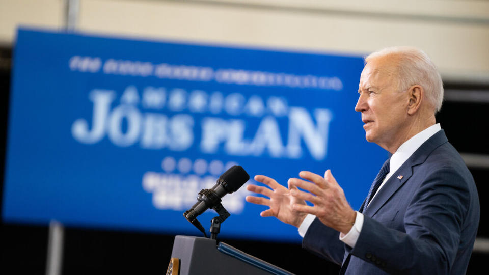Picture for Ambitious Biden plans win over some Trump Country voters Campaign wants to persuade Congress members such as Ron Kind that Jobs Plan, Families Plan have widespread backing