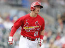 Picture for St Louis Cardinals: Nolan Gorman putting on a show at Springfield